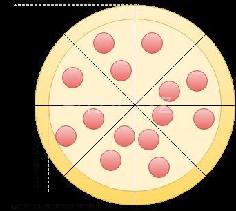 قطر و لبه پیتزا