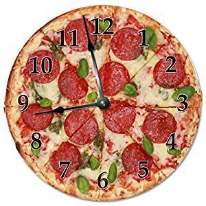 ساعت پیتزا
