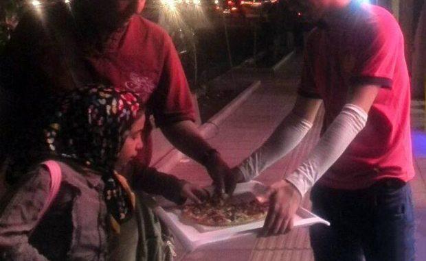 پیتزا نذری در قم