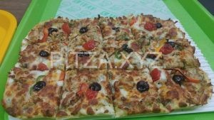 پیتزا مرغ تندوری